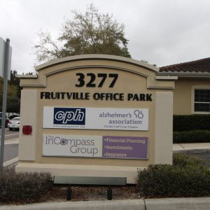 2,200 SF Office for Sale with Fruitville Rd Signage