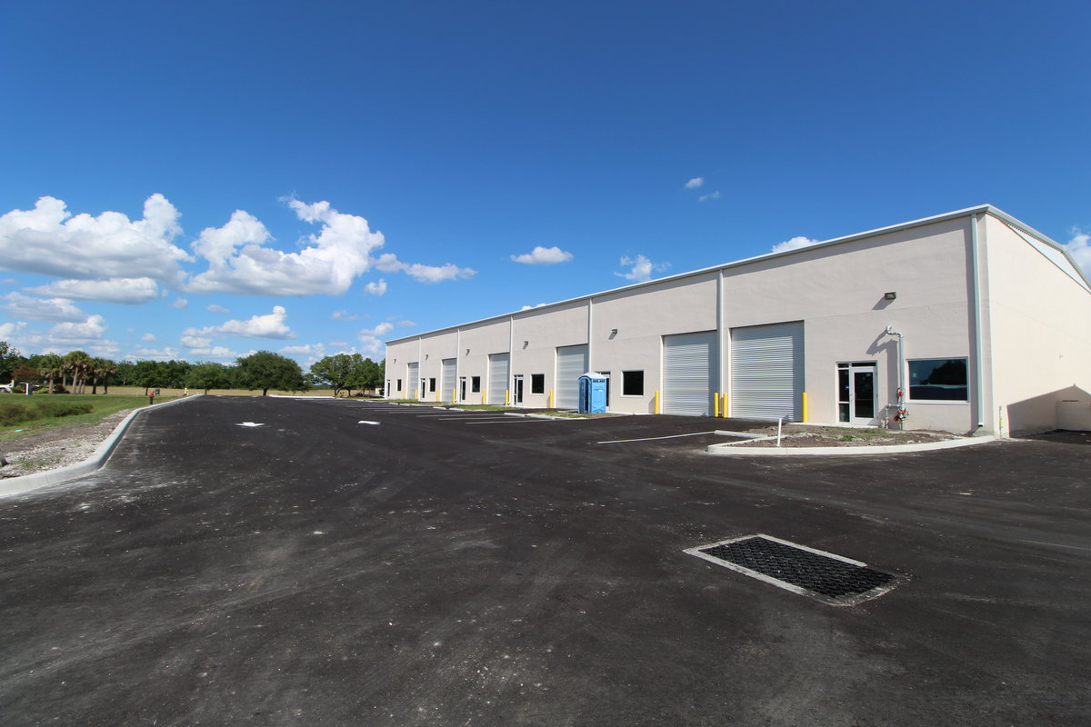Brand New Units! 2,560 SF, 3,120 SF to 8,240 SF with Fenced Storage