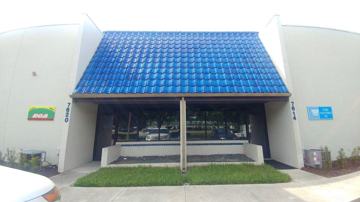 5,011+/-SF Flex Unit with A/C warehouse 7614-7620 15th St East, Sarasota, FL 34243