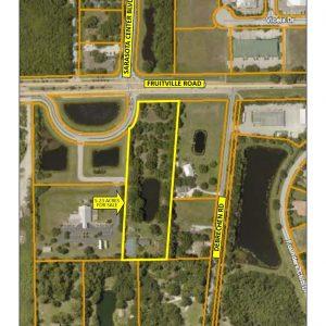 5.23 Acres for Sale at Fruitville Rd / Sarasota Center Blvd 8072 Fruitville Rd, Sarasota, FL 34240